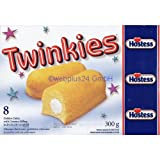 8 Hostess Twinkies (canadian) (300g)
