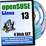 OpenSUSE 12.3 Linux, 4-disks DVD Inst...