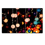 Large Table Mats colorful bubble lamp make in thailand IMAGE 19890524 by MSD Customized Tablemats Stain Resistance Collector Kit Kitchen Table Top Desk Drink Collector