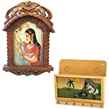 Great Art Buy Bani Thani Wooden Photo Frame N Get Key Magazine Holder Free