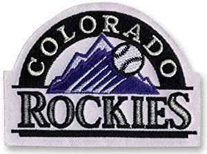 2 Patch Pack - Colorado Rockies Home Jersey MLB Baseball Team Logo Patches by Hall of Fame Memorabilia