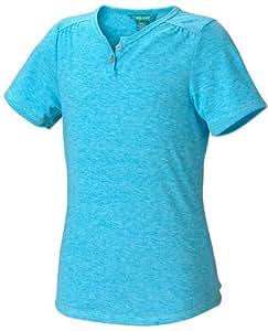 Marmot Sara T-shirt à manches courtes pour fille Turquoise Bleu océan X-Small