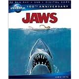 Jaws [Blu-ray + DVD + Digital Copy + UltraViolet] (Universal's 100th Anniversary)