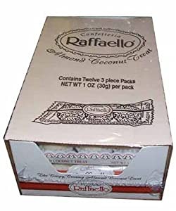 Amazon.com : Ferrero Raffaello Almond Coconut Candy 36 count