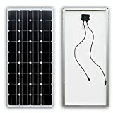 100W Solar Panel 100 Watts 12 Volt Monocrystalline Photovoltaic PV Solar Module 12V Battery Charging