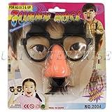 鼻メガネ ちょびヒゲ付