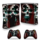 Mightyskins Protective Vinyl Skin Decal Cover For Microsoft Xbox 360 S Slim + 2 Controller Skins Wrap Sticker... - B00CXPHMX8