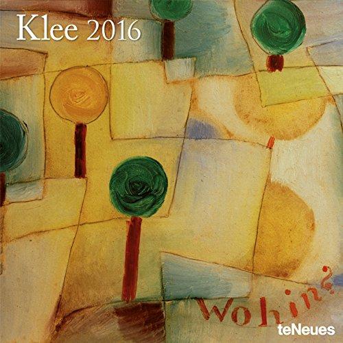 2016 Paul Klee Wall Calendar