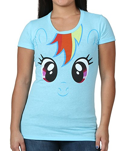 My Little Pony Rainbow Dash Big Face Neon Sky