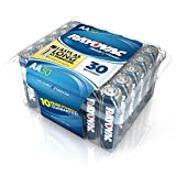 Rayovac Alkaline AA Batteries, 815-30F, 30-Pack with Recloseable Lid