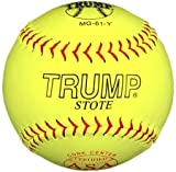 Trump® MG-61-Y MP Series Leather ASA 12 Inch Softball (Sold in Dozens)