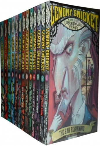 Cover of A Series of Unfortunate Events Complete Collection 13 Childrens Book Set