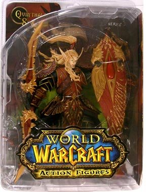 Picture of DC Comics World of Warcraft Series 3 Blood Elf Paladin Action Figure (B0016NEFKQ) (DC Comics Action Figures)