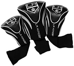 NHL Los Angeles Kings 3 Pack Contour Headcovers by Team Golf