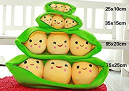 Toy Story Soft Pea Pod Plush Toy Doll Pillow Doll Pillow Cushion (65cm)