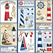 Nautical Gift Wrap Roll 24\