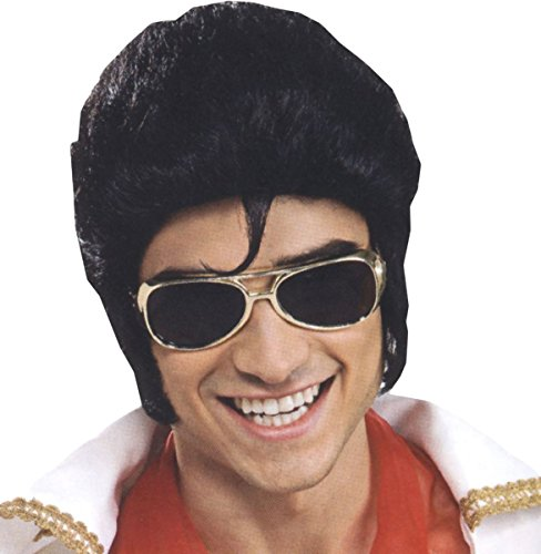 Elvis Glasses Adult-Gold / One-Size