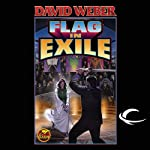 Flag in Exile: Honor Harrington, Book 5 (       UNABRIDGED) by David Weber Narrated by Allyson Johnson