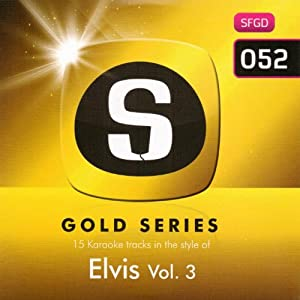 Sunfly Karaoke Gold Series Vol 52 - Hits Of Elvis Presley #3 (CD+G)