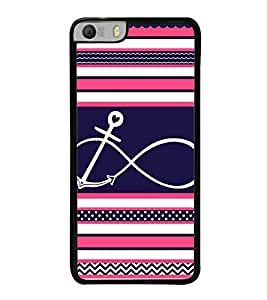 Infinity Anchor 2D Hard Polycarbonate Designer Back Case Cover for Micromax Canvas Knight 2 E471