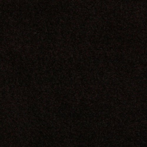 60'' Wide WinterFleece Velour Black Fabric By The Yard