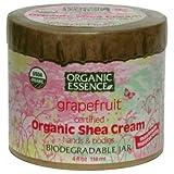 Organic Essence Organic Shea Cream Grapefruit 4 oz