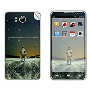 Skintice Designer Mobile Skin Sticker for Micromax Canvas Doodle A111, Design - Star shine