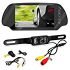 Pyle PLCM7200 7-Inch TFT Mirror Monitor with Rearview Night Vision Camera