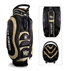 Brand New Wake Forest University Demon Deacons Medalist Cart Bag by Things for You