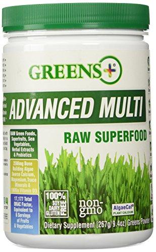 Advanced Multi Raw Superfood Greens+ (Orange Peel Enterprises) 9.4 oz Powder