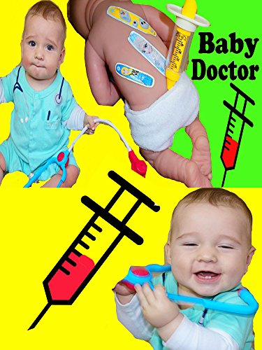 Baby Alive BABY DOCTOR Dr Doll Check Up Baby Eli Play Hospital Visit Medical Kit Toys Baby Shot