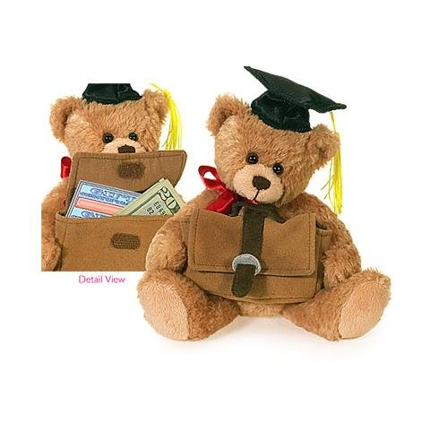 March of Dimes Gift Card Holder Graduation Bear