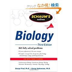 Schaum's Outline of Biology, Third Edition (Schaum's Outline Series)