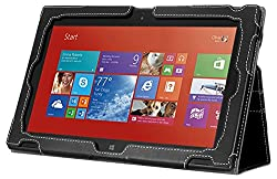 Poetic SlimBook Case for Nokia Lumia 2520 10.1 Inch Window RT Tablet Black (3 Years Manufacturer Warranty from Poetic)