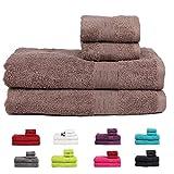 Casa Basics 450 GSM Premium Quick Dry 4 Pcs Bath Towels Set- Beige(Bath, Hand Towel Set)
