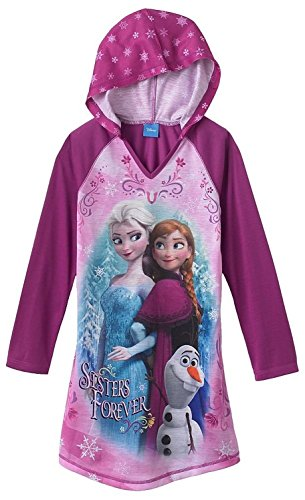 "Disney Frozen ""Sisters Forever"" Hooded Nightgown - Girls"