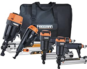 Freeman P4FRFNCB Framing/Finishing Combo Kit with Canvas Bag, 4-Piece by Freeman