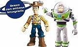 IMC Toys Buzz & Woody Figures Toy Story Walkie Talkie #140400
