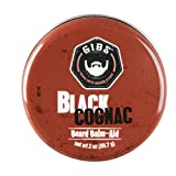 GIBS Black Cognac Beard Balm-Aid, 2 Ounces.