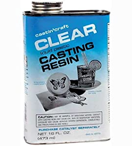 Environmental Tech Castin' Craft Clear Casting Resin 16 oz. can