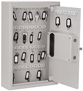 Buddy Products Key Safe, 4 x 17.75 x 11.75, Platinum (3221-32)
