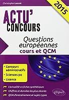 Questions Européennes 2015 Cours et QCM