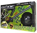 Gi Joe Movie Snake Eyes Sword and Mask