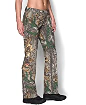 Under Armour Women's Scent Control Field Pant, Realtree Ap-Xtra (946), 4