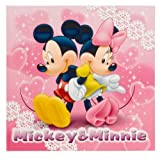 FUJICOLOR photo mount Disney Mickey & Minnie L character Pink 15720 (japan import)