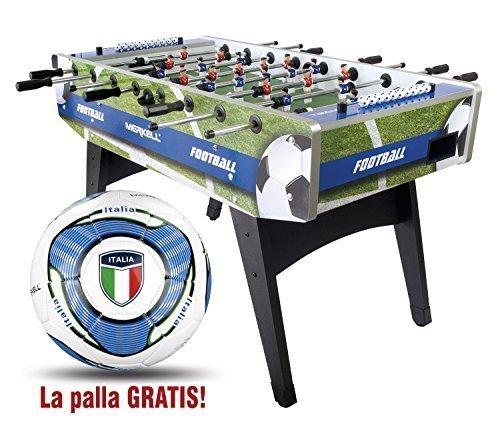 Calcio balilla in legno Calcetto con Gambe Merkell Calcetto da Tavolo, Calciobalilla professionista, Calcetti, Tavolo Calcio Balilla