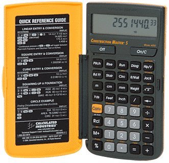 Crl Construction Master Calculator front-383372