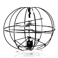 ROBOTIC UFO 3-Channel I/R Flying Ball RC Helicopter with Gyro by HappyCow