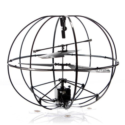 ROBOTIC UFO 3-Channel I R Flying Ball RC Helicopter with Gyro