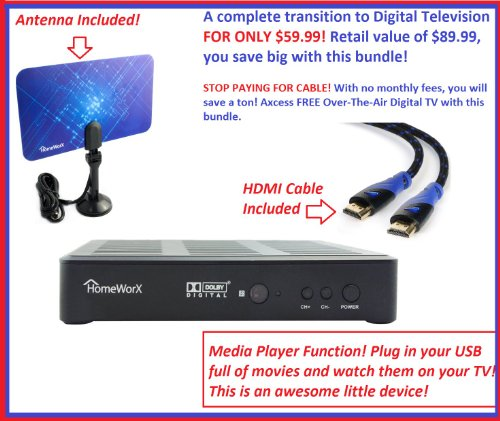 Mediasonic HW180STB HomeWorx HDTV Photo